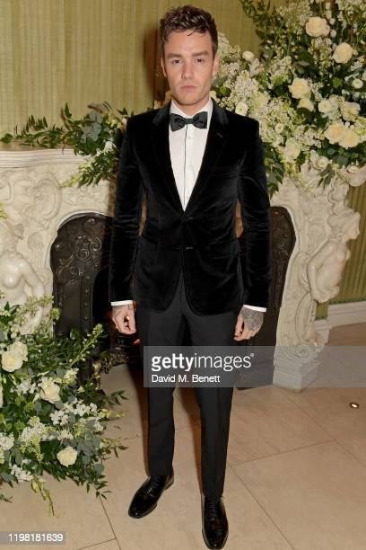 Liam Payne attends the British Vogue and Tiffany Co Fashion and Film Party at Annabel's on February 2 2020 in London England