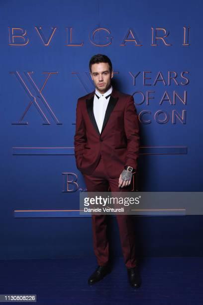 Liam Payne attends the Bvlgari BZERO1 XX Anniversary Global Launch Event at Auditorium Parco Della Musica on February 19 2019 in Rome Italy