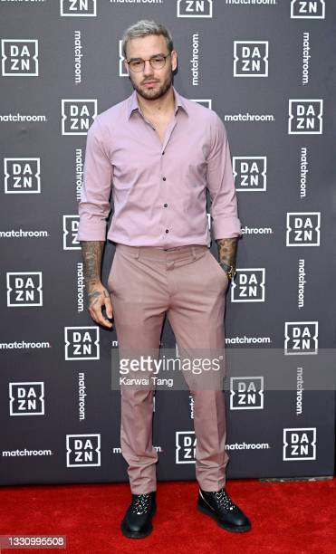 Liam Payne attends the Dazn x Matchroom VIP Launch Event at Kings Cross on July 27, 2021 in London, England.