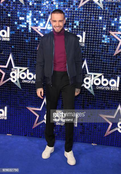 Liam Payne attends The Global Awards 2018 at Eventim Apollo Hammersmith on March 1 2018 in London England