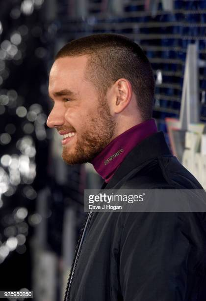 Liam Payne attends The Global Awards a brand new awards show hosted by Global the Media Entertainment Group at Eventim Apollo Hammersmith on March 1...
