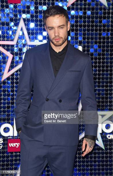 Liam Payne attends The Global Awards with Verycouk at the Eventim Apollo Hammersmith on March 7 2019 in London England