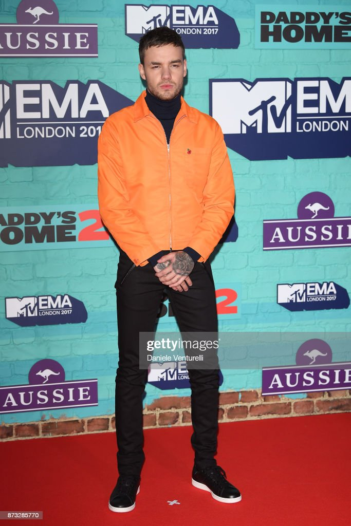Liam Payne attends the MTV EMAs 2017 held at The SSE Arena, Wembley on November 12, 2017 in London, England.