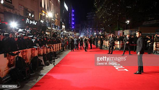 Liam Payne attends the World Premiere of I Am Bolt at Odeon Leicester Square on November 28 2016 in London England