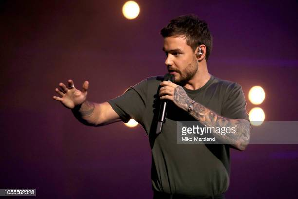 Liam Payne attends Westfield London's 10th anniversary celebrations at Westfield White City on October 30, 2018 in London, England.