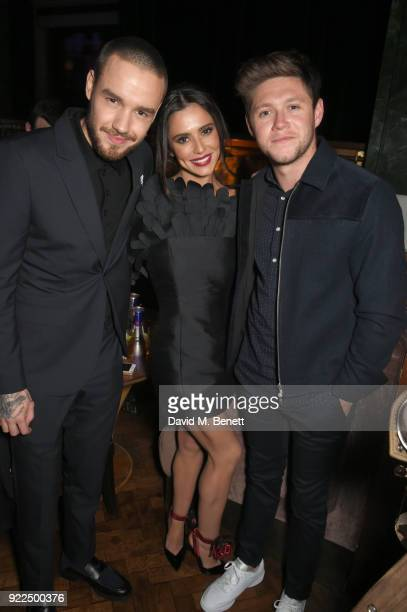 Liam Payne, Cheryl and Niall Horan attend the Universal Music BRIT Awards After-Party 2018 hosted by Soho House and Bacardi at The Ned on February...