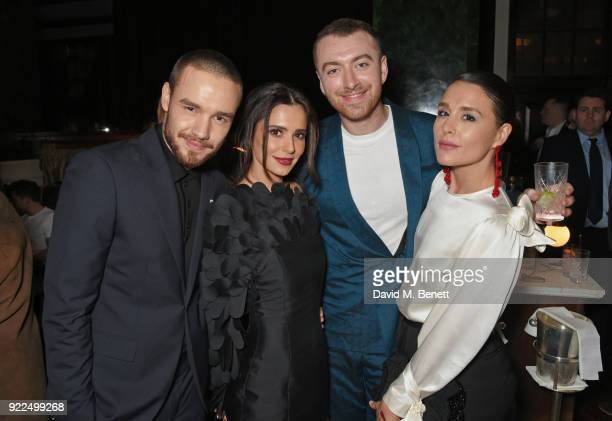 Liam Payne Cheryl Sam Smith and Jessie Ware attend the Universal Music BRIT Awards AfterParty 2018 hosted by Soho House and Bacardi at The Ned on...