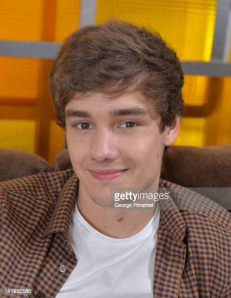 Liam Payne from One Direction Visit ET Canada Studios on March 26 2012 in Toronto Canada
