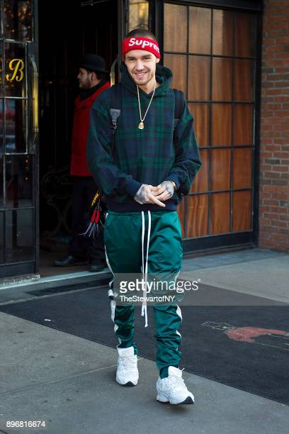 Liam Payne is seen in the East Village on December 21 2017 in New York City