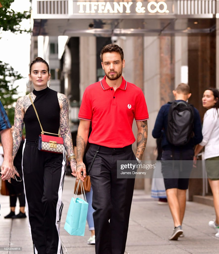 Liam Payne At Tiffany & Co. NY Flagship Store