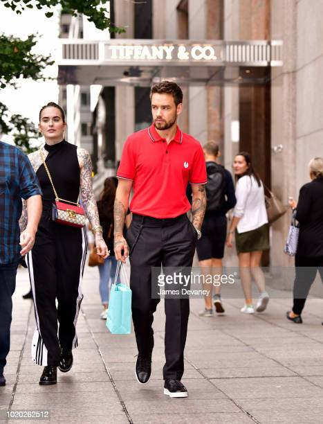 Liam Payne leaves Tiffany Co NY Flagship Store on August 20 2018 in New York City