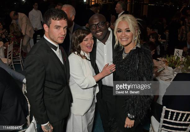Liam Payne Lynne Ramsay Edward Enninful and Rita Ora attend the 10th Annual Filmmakers Dinner hosted by Charles Finch Edward Enninful and Michael...