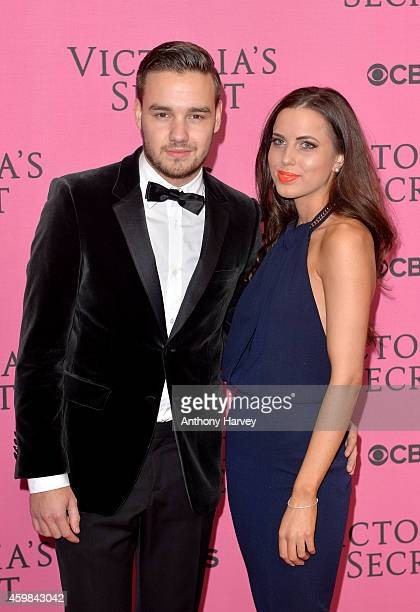 Liam Payne of One Direction and girlfriend Sophia Smith attend the pink carpet of the 2014 Victoria's Secret Fashion Show on December 2 2014 in...