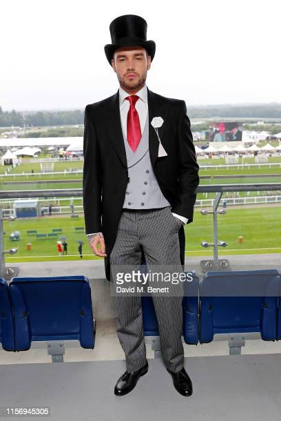 Liam Payne on day 2 of Royal Ascot at Ascot Racecourse on June 19 2019 in Ascot England