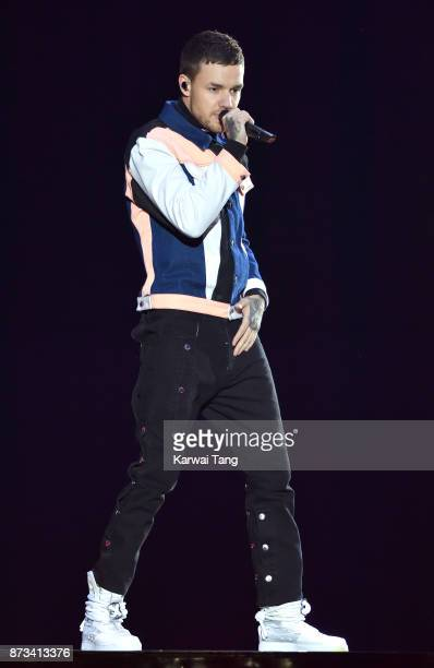 Liam Payne on stage during the MTV EMAs 2017 held at The SSE Arena Wembley on November 12 2017 in London England