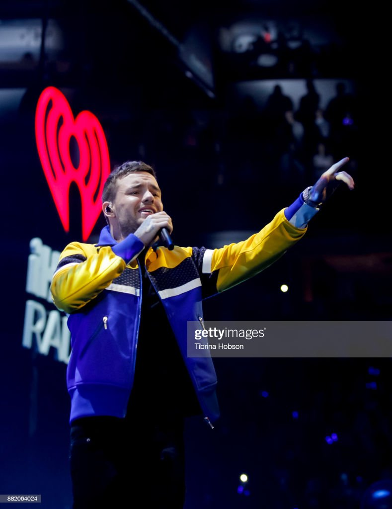 Liam Payne performs 106.1 KISS FM's iHeartRadio Jingle Ball 2017 at American Airlines Center on November 28, 2017 in Dallas, Texas.