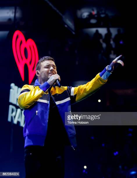 Liam Payne performs 1061 KISS FM's iHeartRadio Jingle Ball 2017 at American Airlines Center on November 28 2017 in Dallas Texas