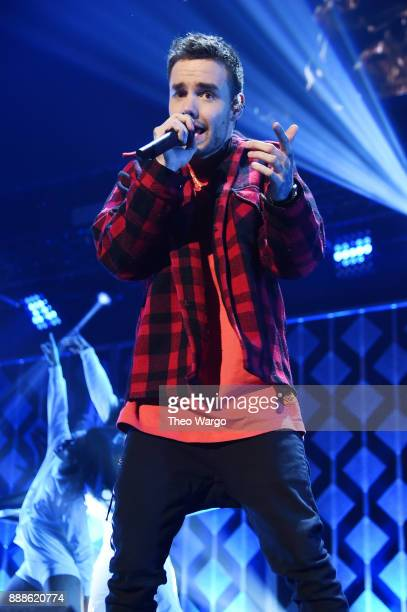 Liam Payne performs at Z100's Jingle Ball 2017 on December 8 2017 in New York City