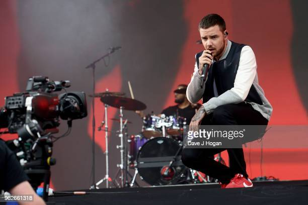 Liam Payne performs during day 1 of BBC Radio 1's Biggest Weekend 2018 held at Singleton Park on May 26 2018 in Swansea Wales