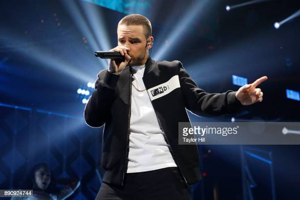 Liam Payne performs during the 2017 Z100 Jingle Ball on December 11 2017 in Washington DC