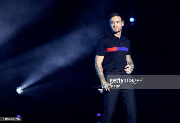 Liam Payne performs on stage at We Day UK at SSE Arena Wembley on March 06 2019 in London England