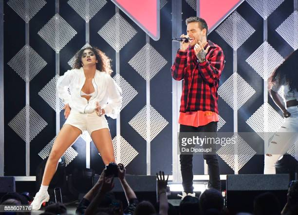 Liam Payne performs onstage at the Z100's Jingle Ball 2017 on December 8 2017 in New York City