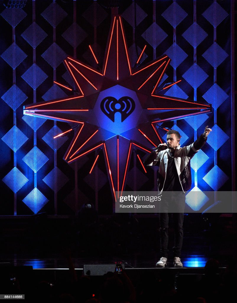 Liam Payne performs onstage during 102.7 KIIS FM's Jingle Ball 2017 presented by Capital One at The Forum on December 1, 2017 in Inglewood, California.