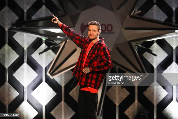 Liam Payne performs onstage during Z100's iHeartRadio Jingle Ball 2017 at Madison Square Garden on December 8 2017 in New York City