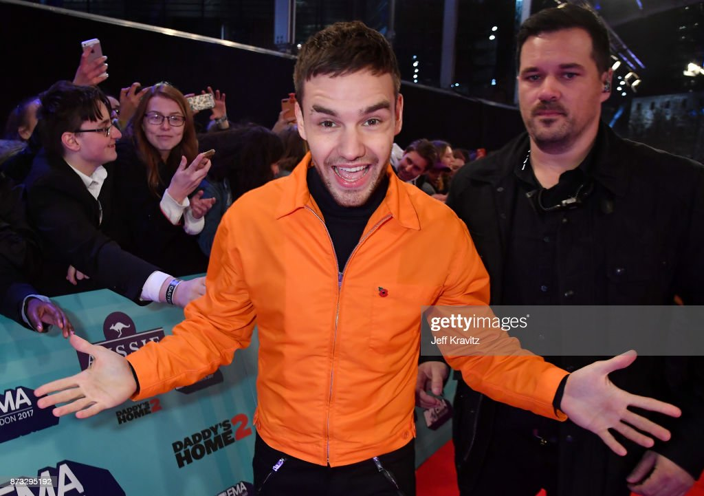 Liam Payne poses at the MTV EMAs 2017 held at The SSE Arena, Wembley on November 12, 2017 in London, England.