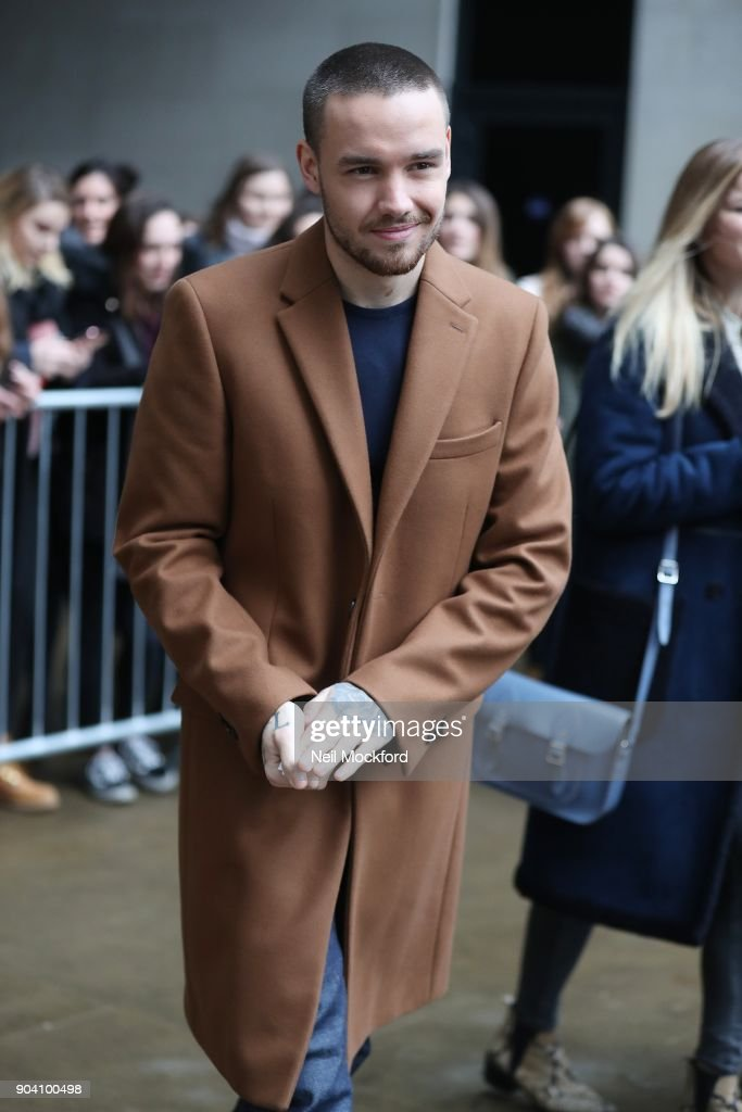 Liam Payne seen at BBC Radio One on January 12, 2018 in London, England.