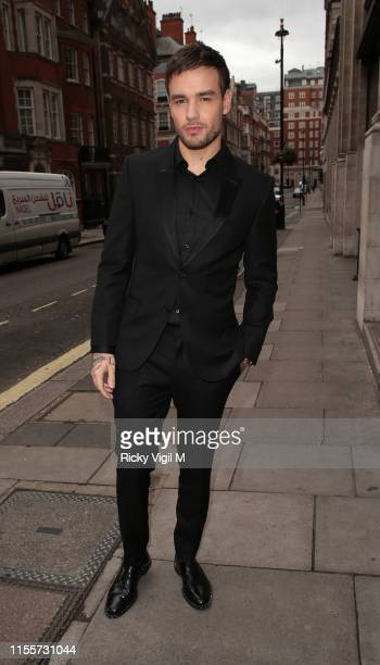 Liam Payne seen attending Caudwell Children Butterfly Ball at Grosvenor House on June 13 2019 in London England