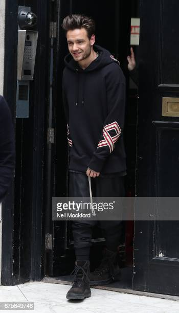 Liam Payne seen leaving the KISS FM UK Radio Studios on May 2 2017 in London England