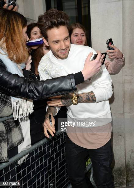 Liam Payne sighting at BBC Radio 2 on May 19 2017 in London England