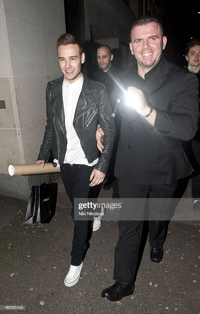 Liam Payne sighting on February 20, 2013 in London, England.