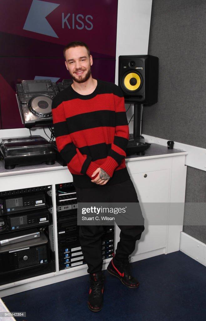 Liam Payne Visits KISS FM