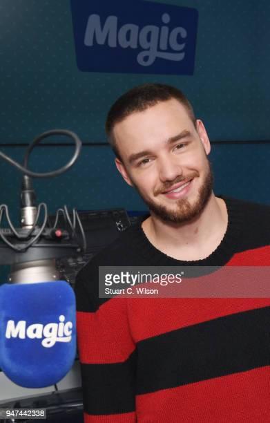 Liam Payne visits Magic Radio on April 17 2018 in London England