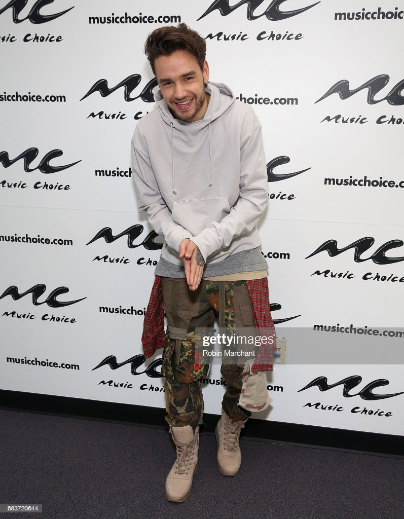 Liam Payne Visits Music Choice