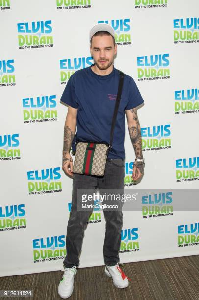 Liam Payne visits The Elvis Duran Z100 Morning Show at Z100 Studio on January 31 2018 in New York City
