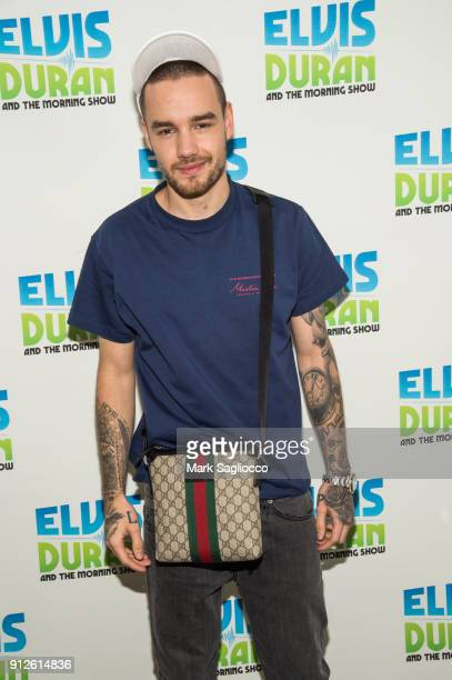 Liam Payne visits 'The Elvis Duran Z100 Morning Show' at Z100 Studio on January 31 2018 in New York City