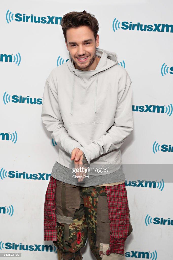 Liam Payne Visits The Morning Mash Up On SiriusXM's SiriusXM Hits 1 Channel