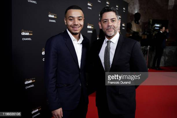 Liam Pierron and Manu Payet attend the Cesar Revelations 2020 at Petit Palais Ceremony on January 13 2020 in Paris France
