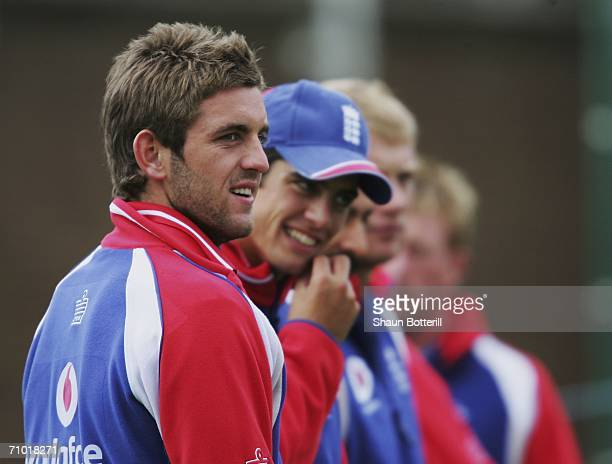Liam Plunkett of England during England net practice at the Edgbaston Cricket Ground on May 23 2006 in Birmingham England