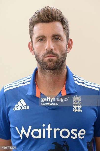 Liam Plunkett of England poses for a portrait at Zayed Cricket Stadium on November 10 2015 in Abu Dhabi United Arab Emirates
