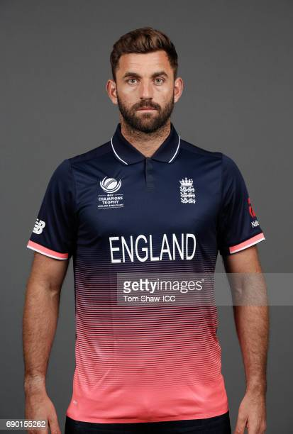 Liam Plunkett of England poses for a portrait during the England Portrait session for the ICC Champions Trophy at Grange City on May 30 2017 in...