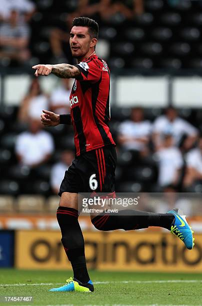 Liam Ridgewell of West Bromwich Albion in action during the Pre Season Friendly match between Derby County and West Bromwich Albion at Pride Park...