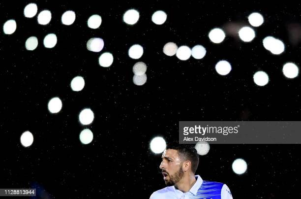 Liam Sercombe of Bristol Rovers looks on during the Checkatrade Trophy Semi Final match between Bristol Rovers and Sunderland at Memorial Stadium on...
