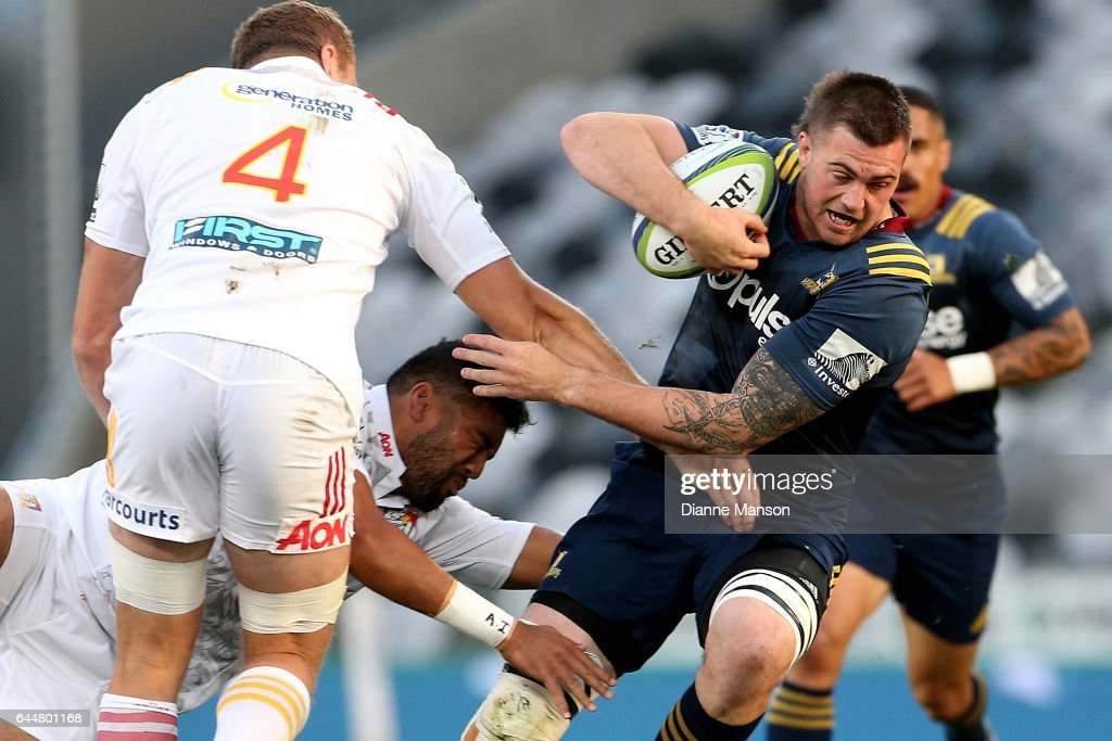 Super Rugby Rd 1 - Highlanders v Chiefs : News Photo