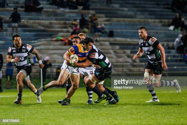 Liam Steel made his debut for the Steamers during the round two Mitre 10 Cup match between Bay of Plenty and Hawke's Bay at Rotorua International...