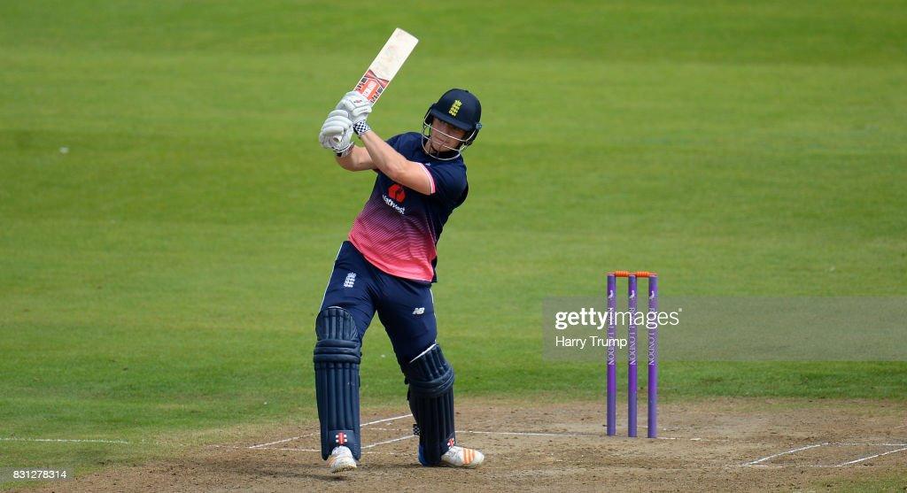 England U19's v India U19's - 4th ODI : Foto jornalística