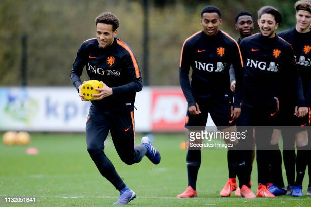 Liam van Gelderen of Holland U18 during the Training Session Holland U18 at the KNVB Campus on March 19, 2019 in Zeist Netherlands
